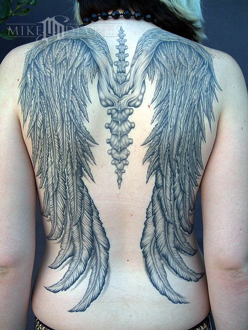 Tattoos - Wings Tattoo - 16578
